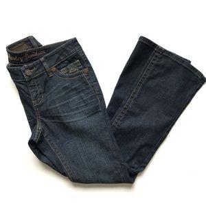 Harley-Davidson Dark Wash Bootcut Jeans